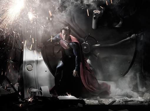 Our first look at the Man of Steel