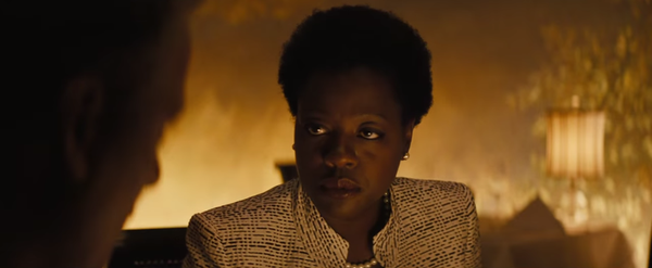Amanda Waller disapproves